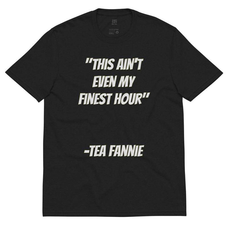 Tea Fannie Unisex recycled t-shirt