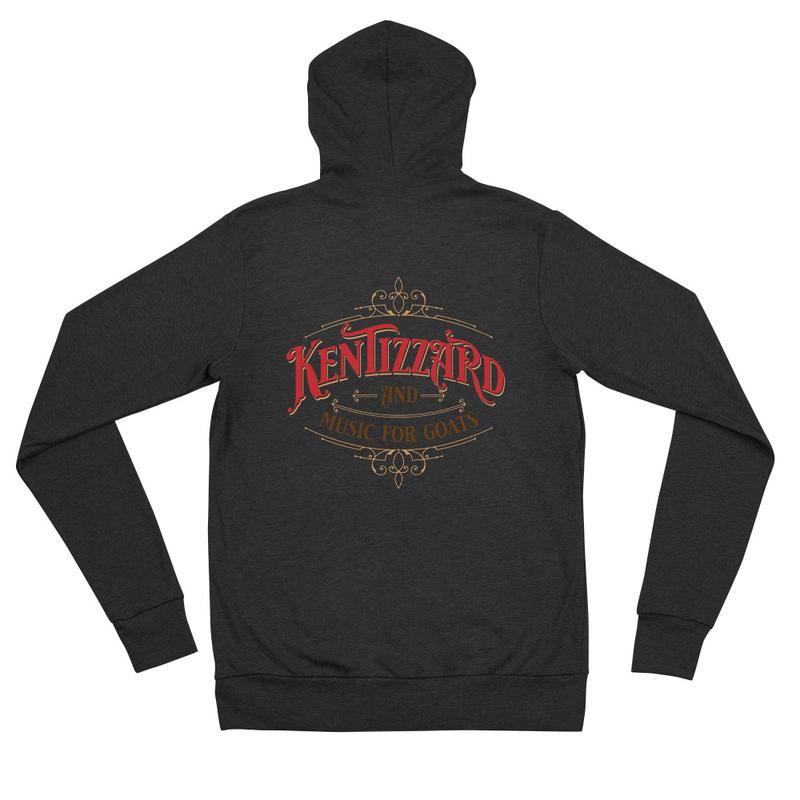 Unisex zip hoodie