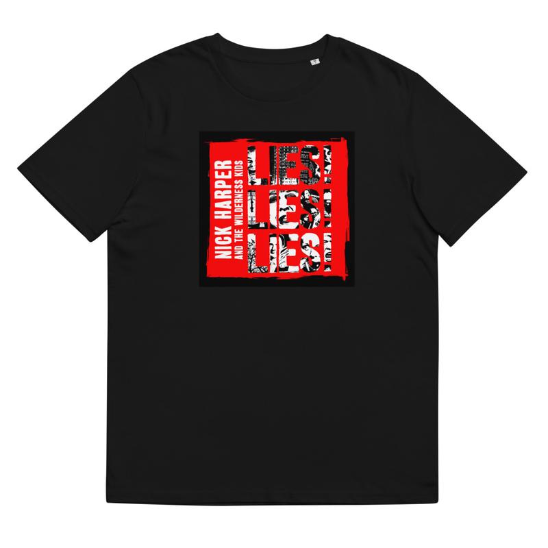 Lies! Lies! Lies! organic cotton t-shirt