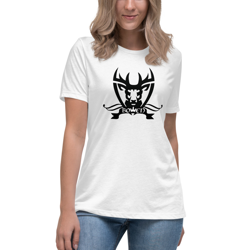 BOWEN Stag Logo Women's Relaxed T-Shirt