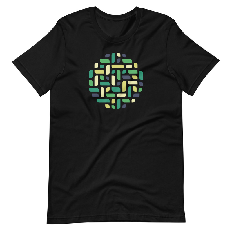 Circle - Green Variant - Short-Sleeve Unisex T-Shirt