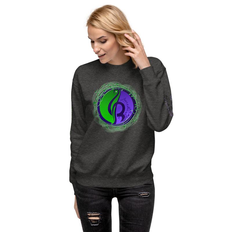 Unisex Fleece Logo Sweatshirt