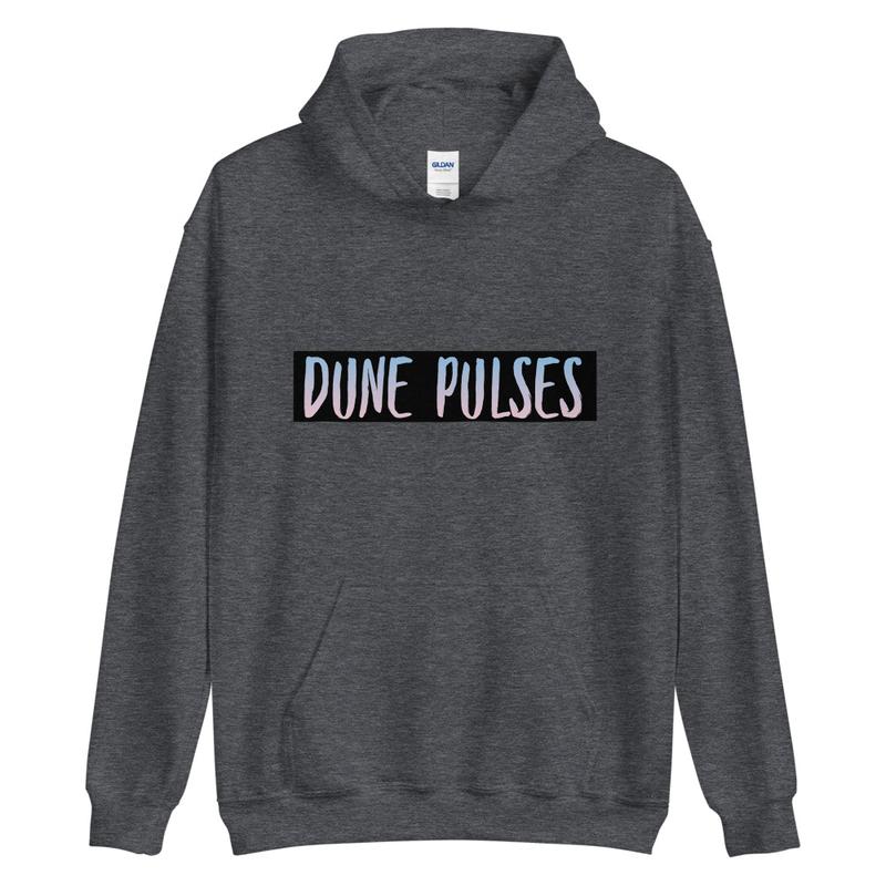 Unisex Hoodie (Dune Pulses)