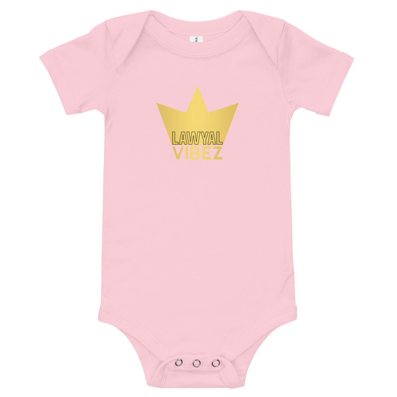 LAWYAL VIBEZ Baby short sleeve one piece
