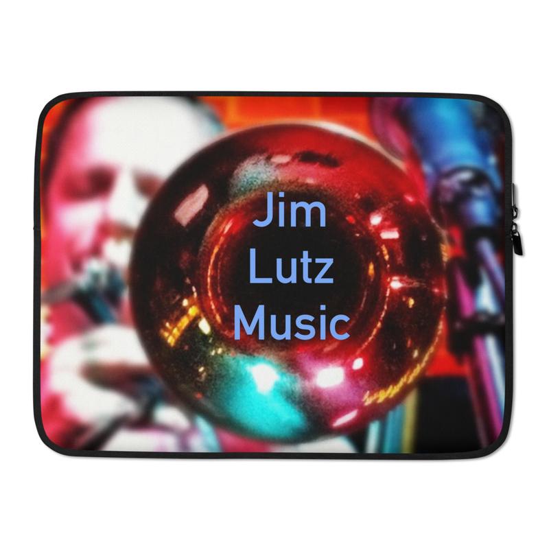 Jim Lutz Music - Laptop Sleeve