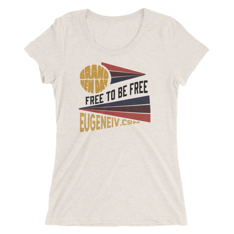 """Brand New Day """"Free To Be Free"""" (women's tee)"""
