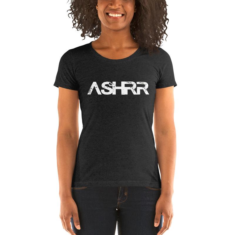 Ladies' short sleeve t-shirt- ASHRR