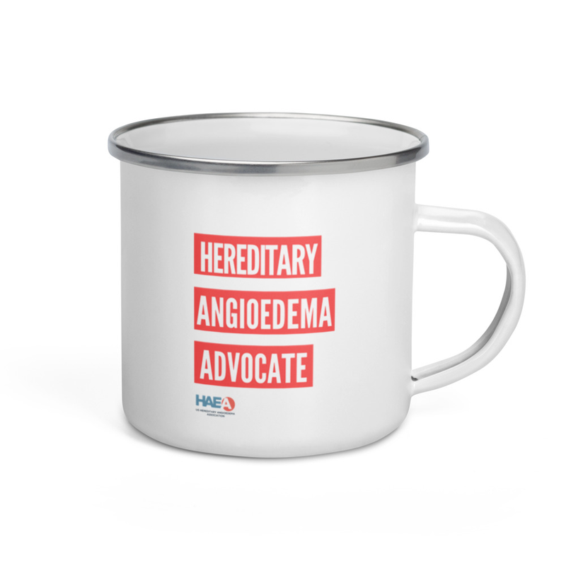 Drinkware - HAE Advocate Enamel Mug