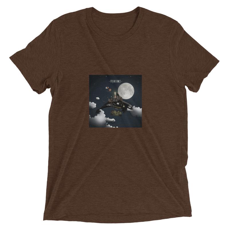 Short sleeve t-shirt (Freak Owls - Orca City)