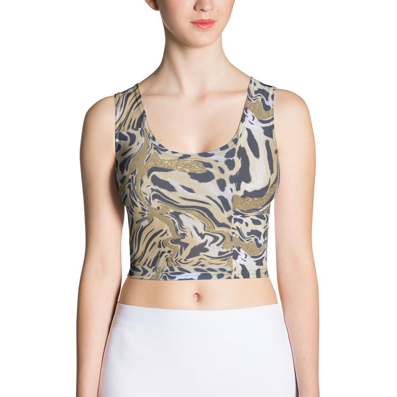 Sublimation Cut & Sew Crop Top