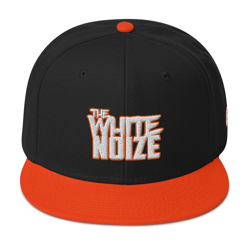 The White Noize Snapback Hat (GRE Logo on Left  Side) - Otto