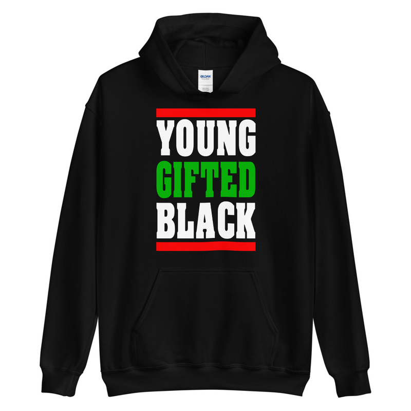 Young Gifted Black RBG Hoodie Black