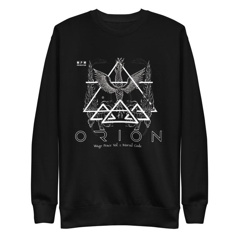 Origins Of Orion Wage Peace Vol. 1: Mortal Gods Unisex Fleece Pullover