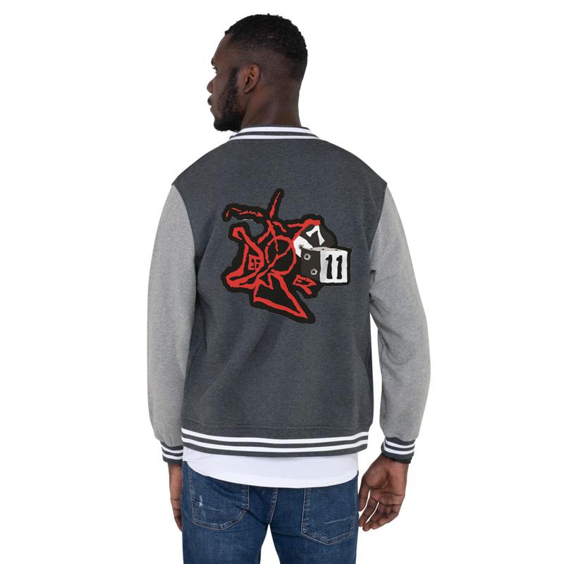 DefBoy Men's Letterman Jacket