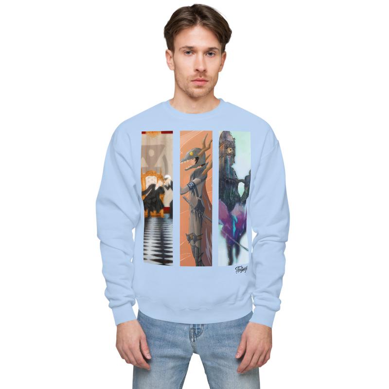 Timeline Unisex fleece sweatshirt