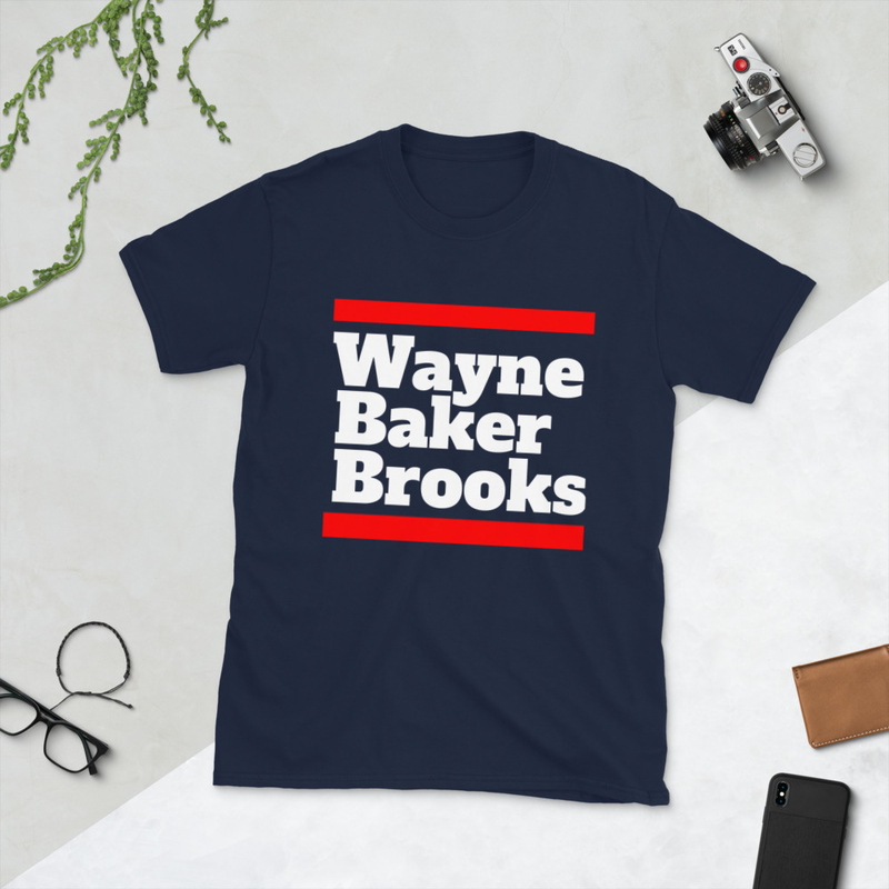 Wayne Baker Brooks Short-Sleeve Unisex T-Shirt Black