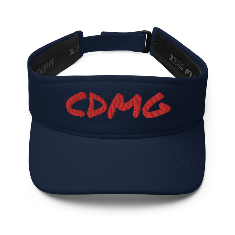 CDMG Visor DARK/w Red