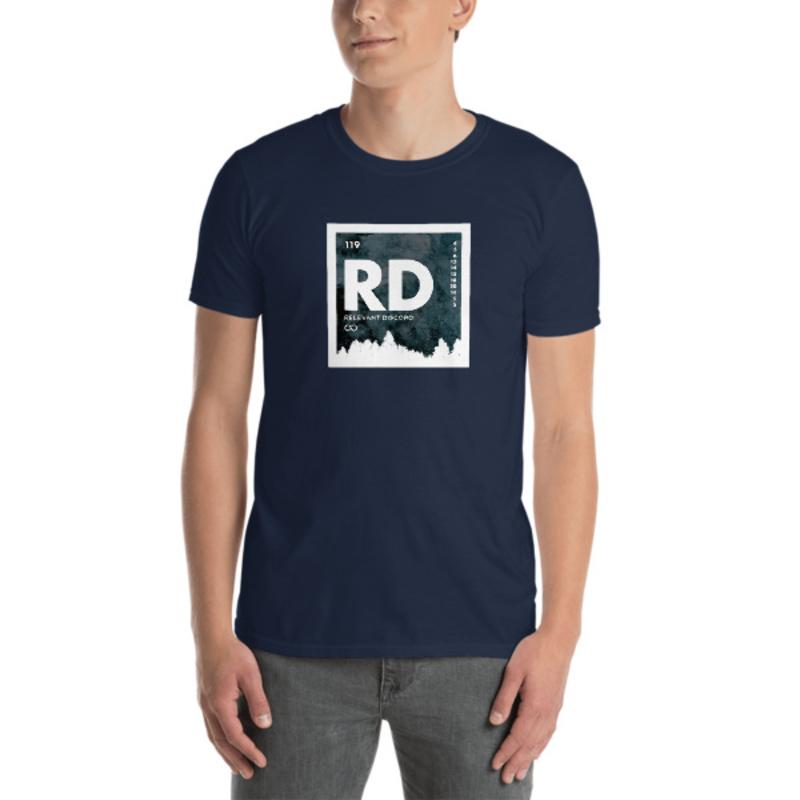 An Element of Discord (Icy White Edge Logo) - Short-Sleeve Unisex T-Shirt