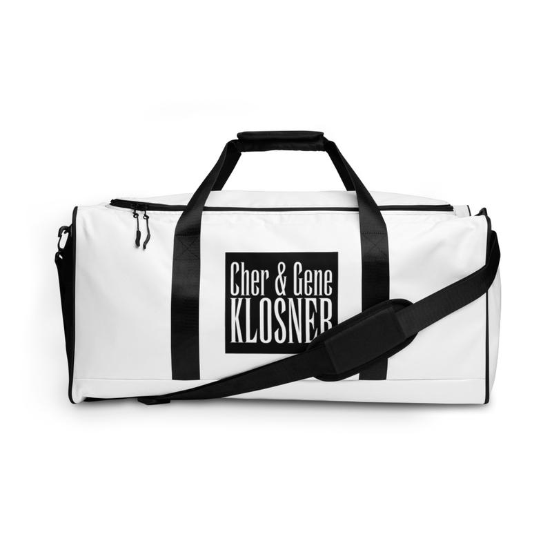 Cher & Gene Klosner Duffle bag