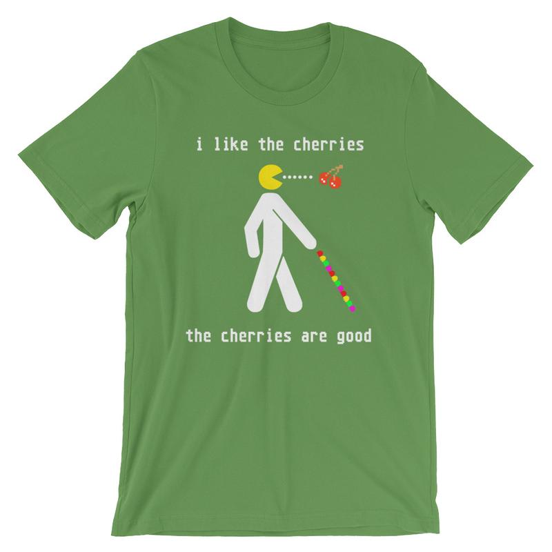 I Like the Cherries T-Shirt Short-Sleeve Unisex T-Shirt