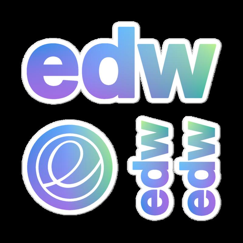 edw Sticker Sheet (Limited Run)