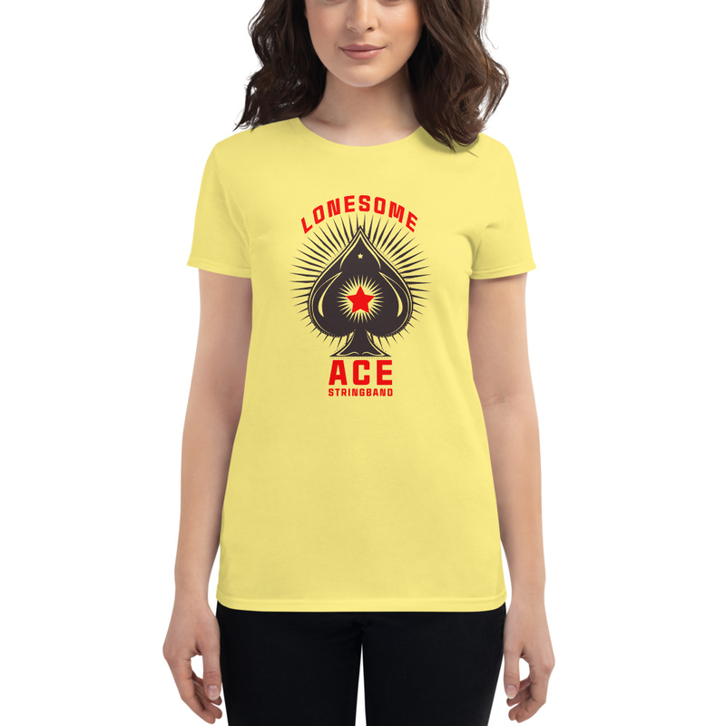 Women's short sleeve t-shirt Ace (black)