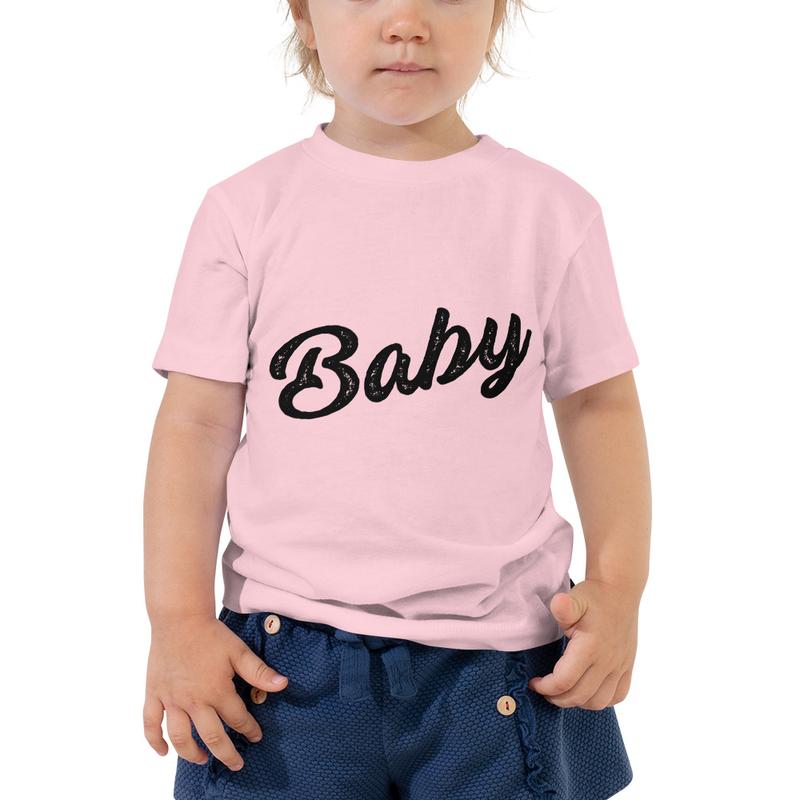 "Toddler ""Baby"" Short Sleeve Tee"