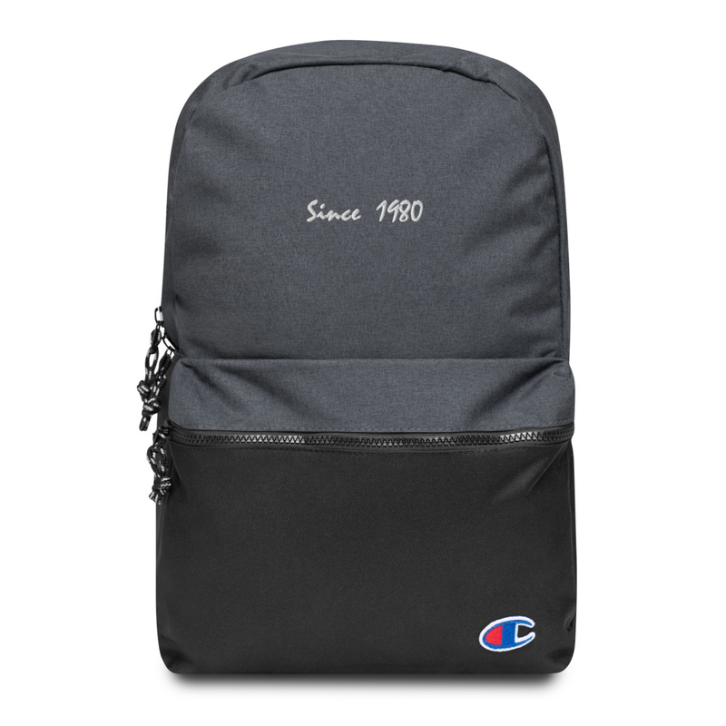Since 1980 Embroidered Champion Backpack