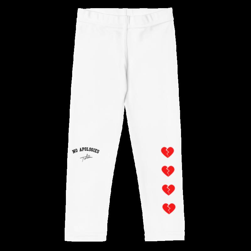 White Heartbreaker Kid's Leggings