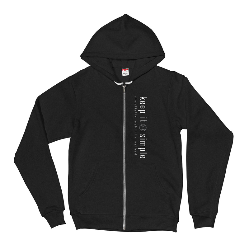Keep It Simple (Back Logo) - Unisex Hoodie image