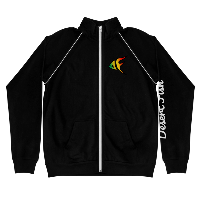 DF Logo Piped Fleece Jacket