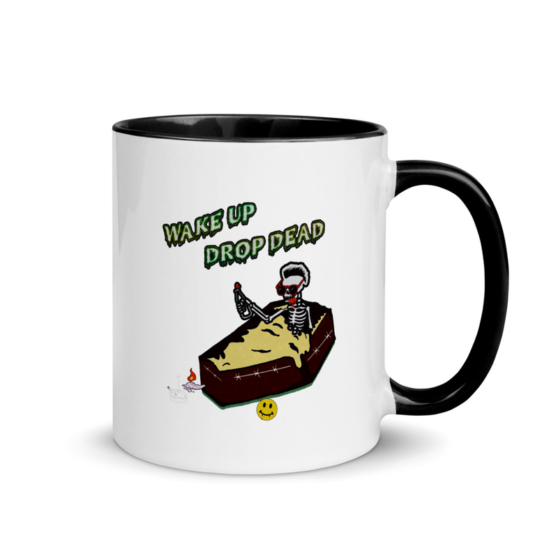 Wake Up Drop Dead Standard Coffee Mug