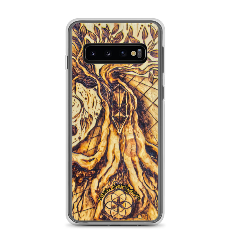 Writing with Fire Samsung Case