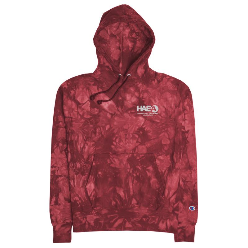 Apparel - Unisex Champion tie-dye hoodie