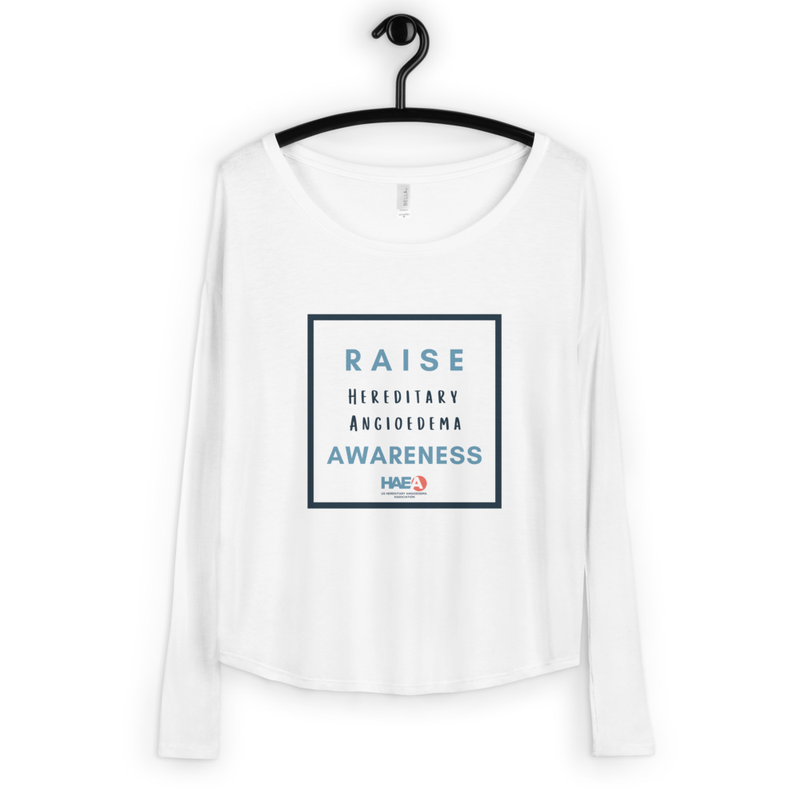 Apparel - Raise HAE Awareness Long Sleeve Tee
