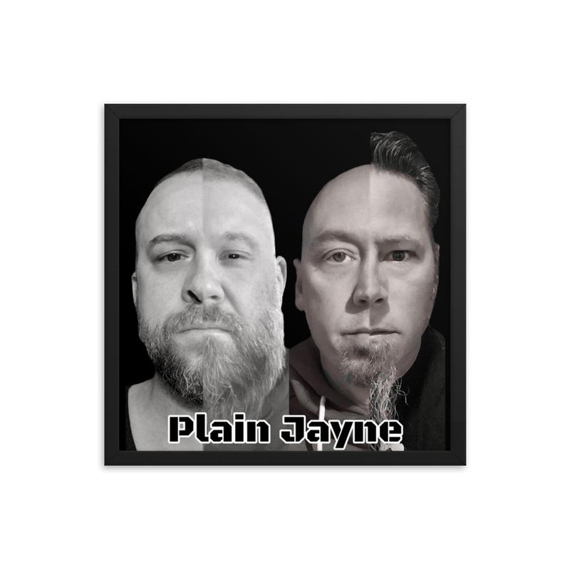 Plain Jayne Framed photo