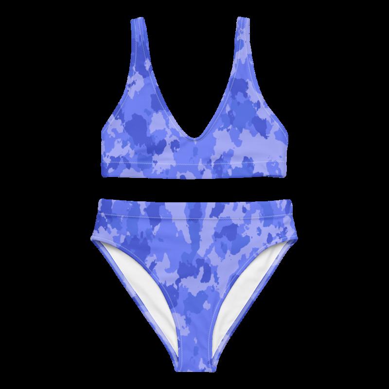 CDMG High Waist Bikini Camo Azul