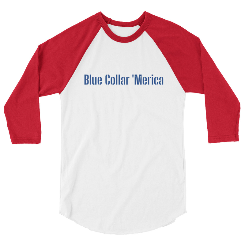 BCA Baseball Tee (Red Sleeves)