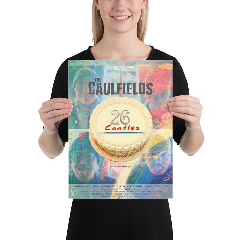 """Caulfields """"26 Candles"""" Poster"""