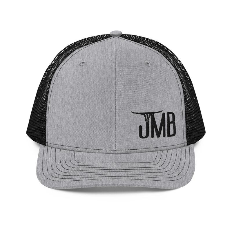 JMB Longhorn Snapback Trucker Hat - Left Aligned Logo
