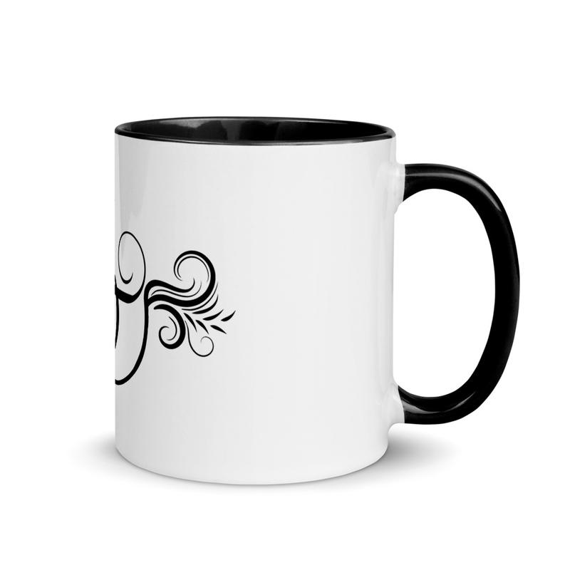 Bad Lemon Mug with Color Inside - Icon BlK
