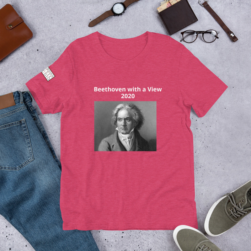 Short-Sleeve Unisex T-Shirt- Beethoven with a View 2020