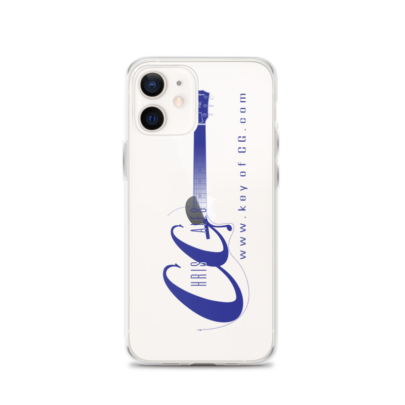 Chris Gales Blue Logo iPhone Case