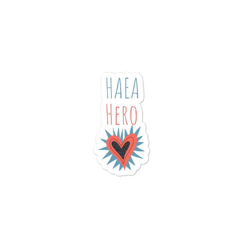 Accessories - HAEA Hero Sticker