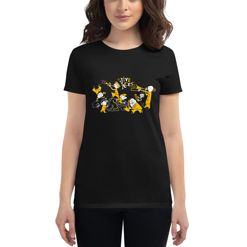 The Jive Aces Women's Toon t-shirt