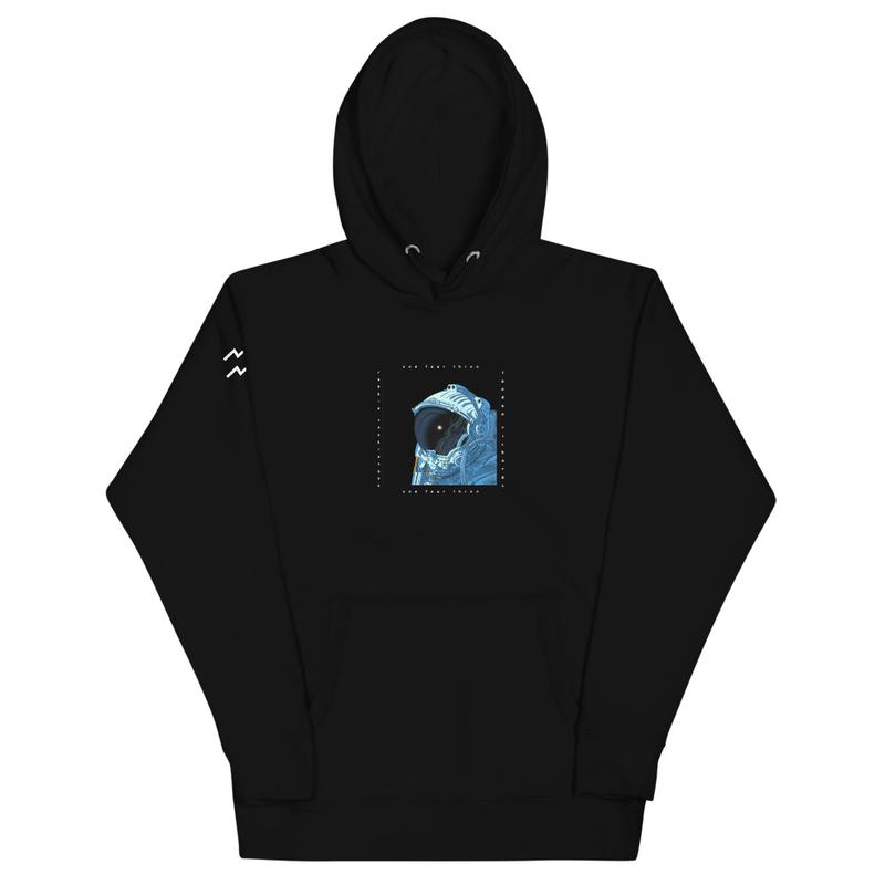 143 astronaut hoodie