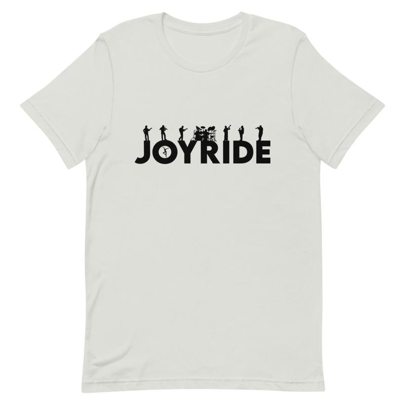 Short-Sleeve Unisex T-Shirt with black design