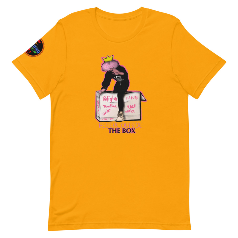 Believe outside the box (Unisex T-Shirt)