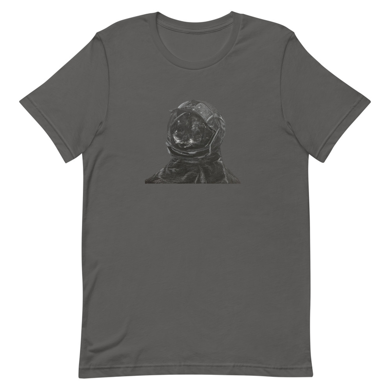 T-shirt: I Don't Want To Go To Space artwork