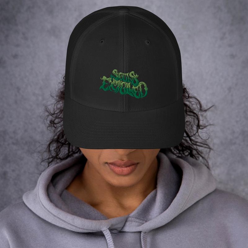 'Garden of Eden' Green Souls Extolled Curved Bill / Mesh Back Cap